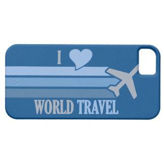 Casamata de encargo del iPhone del World Travel Funda Para iPhone 5 Barely There