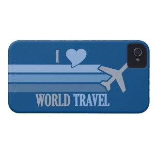 Casamata de encargo del iPhone del World Travel iPhone 4 Case-Mate Coberturas