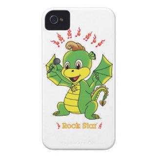Casamata de encargo ID™ de Rockstar™ 4 4S del drag iPhone 4 Case-Mate Cárcasa
