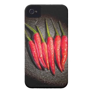 Casamata de Iphone 4/4s de las pimientas de chiles iPhone 4 Cárcasas