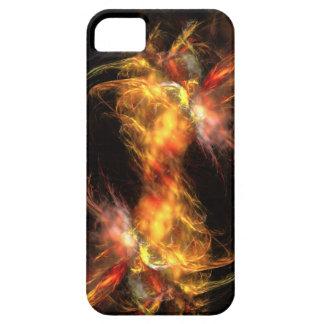 Casamata de Iphone 5 del fuego del fractal iPhone 5 Case-Mate Funda