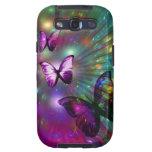 Casamata de la galaxia de Samsung: Mariposas para  Galaxy SIII Protector