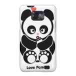Casamata de la galaxia S de Panda® Samsung del amo Samsung Galaxy SII Funda