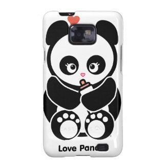 Casamata de la galaxia S de Panda® Samsung del amo Samsung Galaxy SII Carcasas