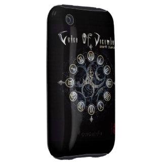 Casamata de la hora cero de VOD Tough iPhone 3 Funda