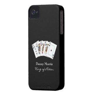 Casamata de la identificación del iPhone 4 de la iPhone 4 Fundas