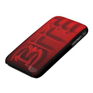 Casamata de la mordedura de HotterThanHell Case-Mate iPhone 3 Protectores