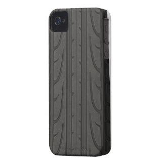 Casamata de la pisada del neumático iPhone 4 coberturas