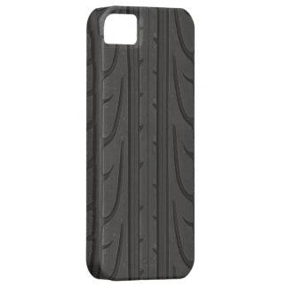 Casamata de la pisada del neumático iPhone 5 fundas