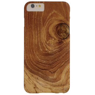 Casamata de madera rústica de Blackberry de la Funda Para iPhone 6 Plus Barely There