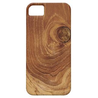 Casamata de madera rústica del iPhone 5 de la foto iPhone 5 Case-Mate Funda