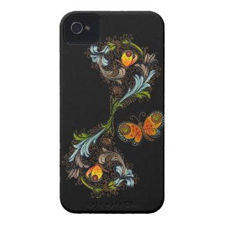 Casamata de pintura floral florentina iPhone4 Case-Mate iPhone 4 Protectores