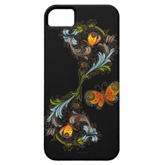 Casamata de pintura floral florentina iPhone5 Funda Para iPhone 5 Barely There
