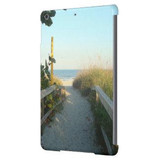 Casamata del acceso de la playa carcasa para iPad air
