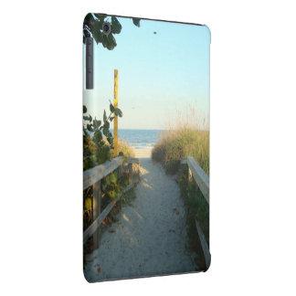 Casamata del acceso de la playa funda para iPad mini retina