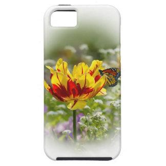Casamata del caso del iPhone 5 de las flores y de  iPhone 5 Case-Mate Cárcasas