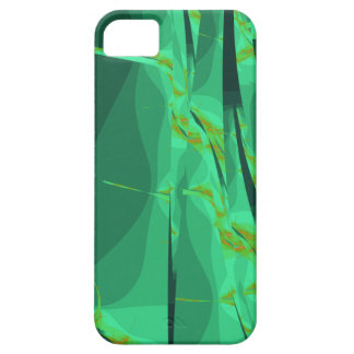 Casamata del fractal del jardín del quelpo iPhone 5 cárcasas