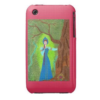 Casamata del iPhone 3G de la flor del escarlata Funda Para iPhone 3 De Case-Mate