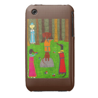 Casamata del iPhone 3G de Snegurochka iPhone 3 Case-Mate Protector
