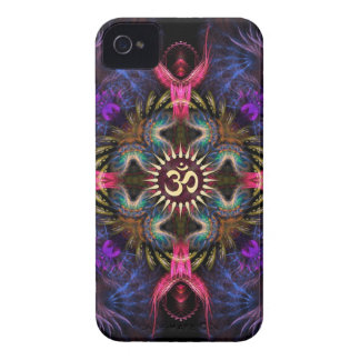 Casamata del iPhone 4 de Aum del arte del fractal  Case-Mate iPhone 4 Protector