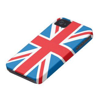 Casamata del iphone 4 de la bandera del Union Jack iPhone 4 Cobertura