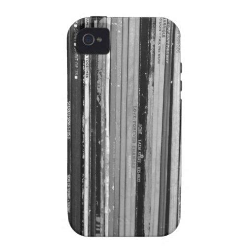 Casamata del iPhone 4 de la música Albums/LP dura Vibe iPhone 4 Carcasa