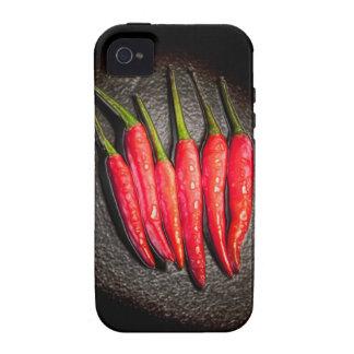 Casamata del iPhone 4 de las pimientas de chiles Carcasa Vibe iPhone 4