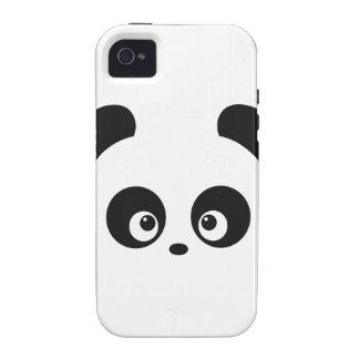Casamata del iPhone 4 de Panda® del amor dura iPhone 4 Carcasa