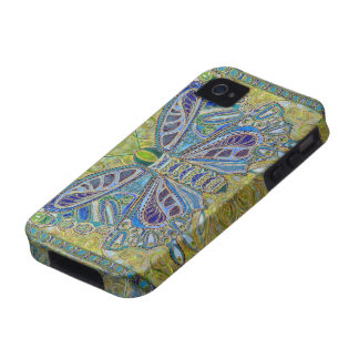 "Casamata del iPhone 4 del ""flor"" - dura iPhone 4 Carcasas"