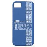 Casamata del iPhone 5 de Grecia, personalizable iPhone 5 Case-Mate Cárcasa