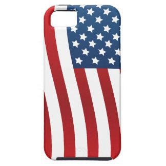 Casamata del iPhone 5 de la bandera americana dura Funda Para iPhone 5 Tough