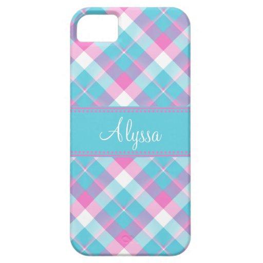 Casamata del iPhone 5 de la tela escocesa iPhone 5 Case-Mate Funda