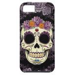 Casamata del iPhone 5 del cráneo y de los rosas iPhone 5 Carcasa