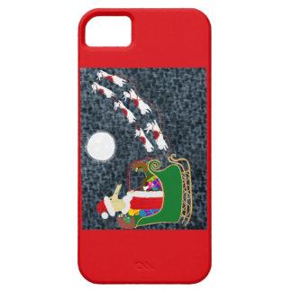 Casamata del iPhone 5 del Dachshund de Santa iPhone 5 Carcasa