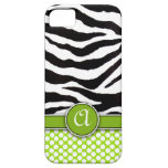 Casamata del iPhone 5 del estampado de zebra de iPhone 5 Case-Mate Carcasa