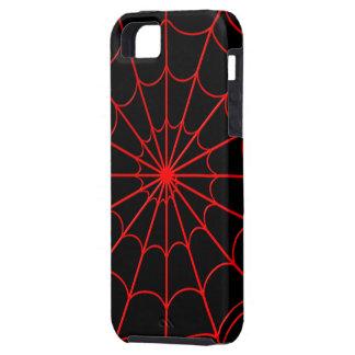 Casamata del iPhone 5 del Web de arañas rojas dura Funda Para iPhone SE/5/5s