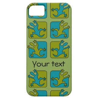 Casamata del iPhone de encargo 5 del Gecko/del iPhone 5 Cobertura