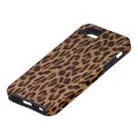 Casamata del iPhone de la ilusión del leopardo por iPhone 5 Case-Mate Protector