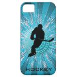 Casamata del iPhone del diseño del hockey iPhone 5 Case-Mate Cárcasas