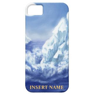 Casamata del iPhone del glaciar con el espacio del iPhone 5 Case-Mate Protectores