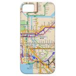 Casamata del subterráneo de Newyork iPhone 5 Carcasas