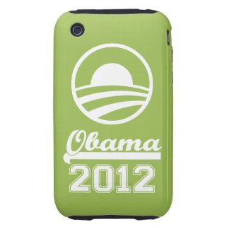 Casamata dura 2012 del iPhone 3 de OBAMA (manzana) iPhone 3 Tough Coberturas