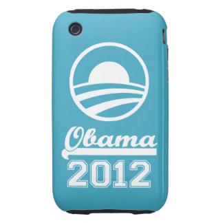 Casamata dura 2012 del iPhone 3 de OBAMA Tough iPhone 3 Cobertura