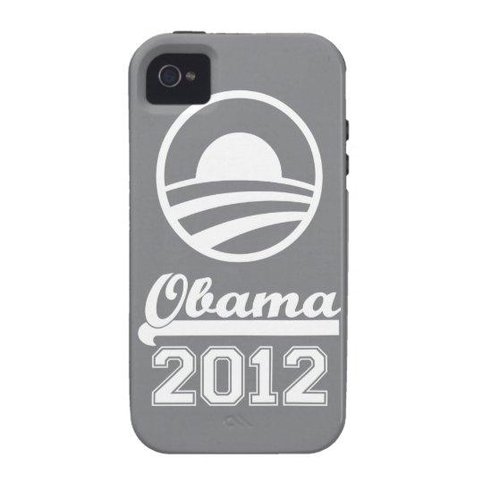 Casamata dura 2012 del iPhone 4 de OBAMA (pizarra) Carcasa iPhone 4