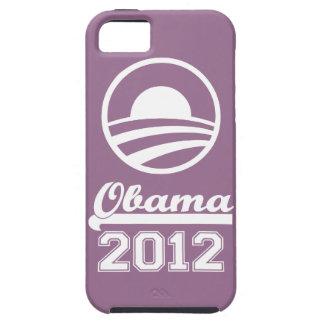Casamata dura 2012 del iPhone 5 de OBAMA (lila) Funda Para iPhone SE/5/5s