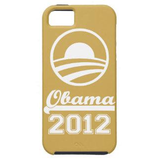 Casamata dura 2012 del iPhone 5 de OBAMA (oro) iPhone 5 Funda