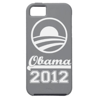 Casamata dura 2012 del iPhone 5 de OBAMA (pizarra) Funda Para iPhone 5 Tough