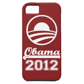 Casamata dura 2012 del iPhone 5 de OBAMA (roja) Funda Para iPhone SE/5/5s