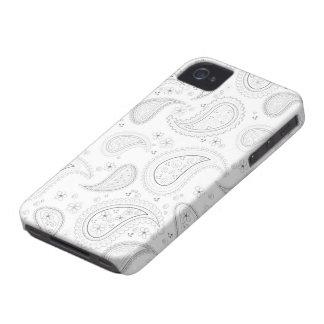 Casamata elegante del iphone 4 del modelo blanco iPhone 4 carcasas