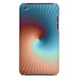 Casamata espiral del fractal iPod touch funda